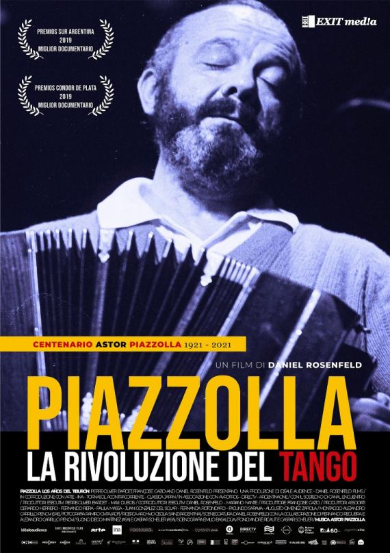 Piazzolla, La rivoluzione del Tango Locandina - Photo Credits: Gargiulo&Polici Comunication