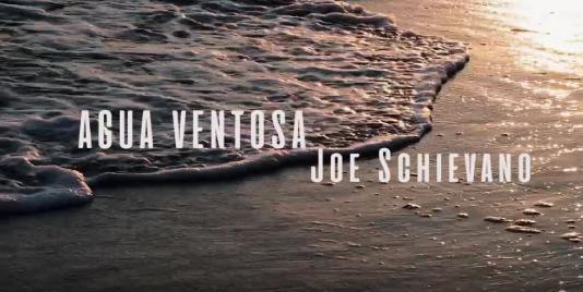 """MUSICA - 11 ottobre: Esce il videoclip di """"Agua Ventosa"""" di Joe Schievano - Colonne sonore."""